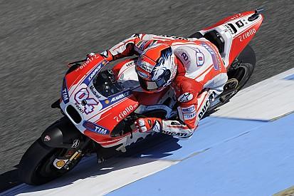 Dovizioso n'a pas été verni avec sa Ducati