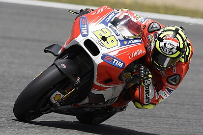 Iannone admits to wet mapping blunder