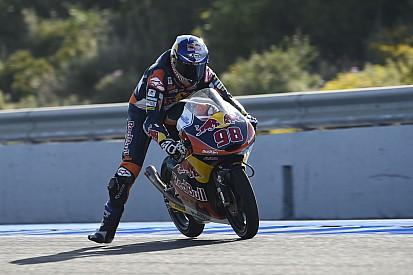 Rififi en Moto3 et sanctions pour Karel Hanika