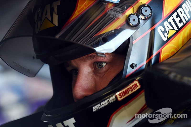 It's Ryan Newman to the rescue in the No. 8 truck at Kansas