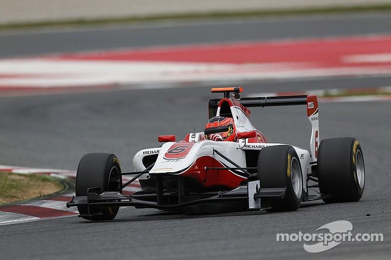 Verstappen's conqueror Ocon eyes GP3 glory