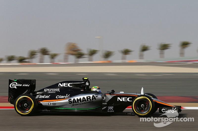 """Force India no tendrá mejoras hasta Silverstone, dice """"Checo"""""""