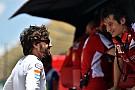 El director deportivo de Ferrari, Rivola, ausente del GP de España
