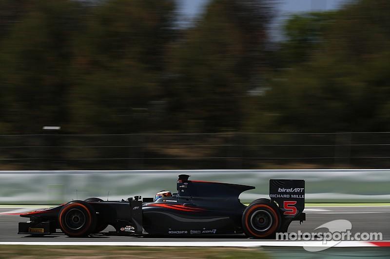 Vandoorne eases to sixth successive GP2 pole