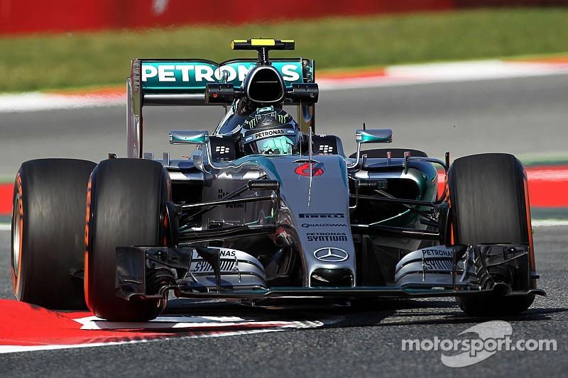 Des difficultés mais du rythme pour Mercedes