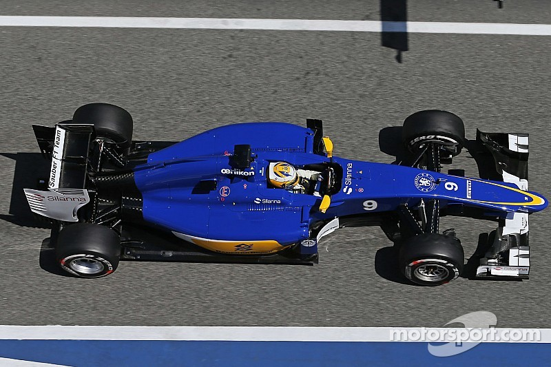 A normal Friday for Sauber on free practice for the Spanish GP