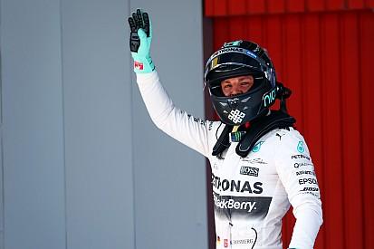 Nico Rosberg gana su primera pole del año