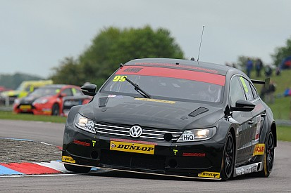 BMR teammates Plato and Smith lead practice at Thruxton