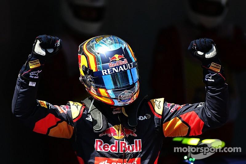 "Sainz celebrates ""very special"" result"