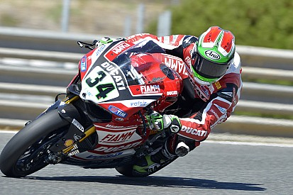 Giugliano grabs emotional Superpole at Imola