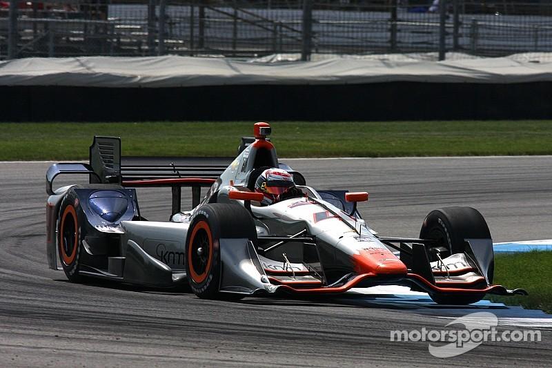 Coletti marca el paso en prácticas de Indy