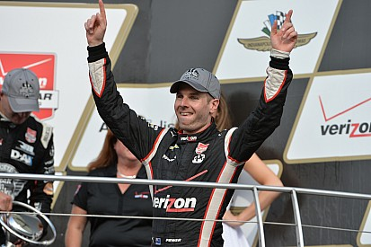 Power holds off Rahal to win GP of Indy