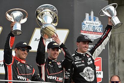 Power vence a Rahal y gana el GP de Indy