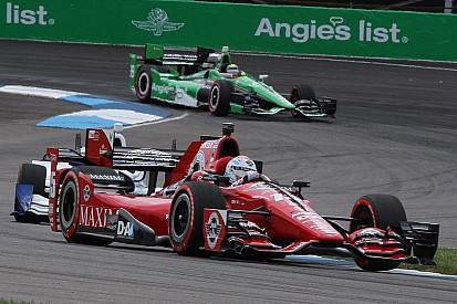 Despite podium result, Rahal and Montoya upset with lap traffic