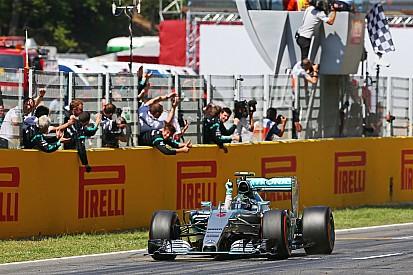Rosberg s'impose à Barcelone au volant d'une Mercedes dominatrice