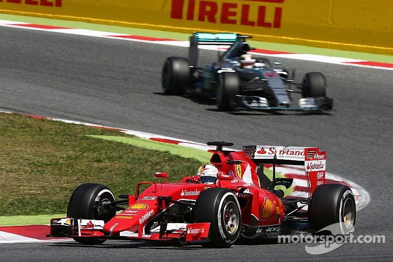 Vettel destacó que el segundo sitio era posible