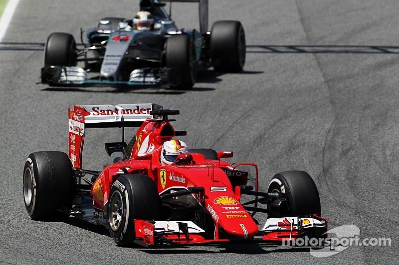 Vettel thinks Ferrari strategy was right