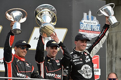 """""""You'd be worried if (Rahal) was in a Chevy"""" - Will Power"""