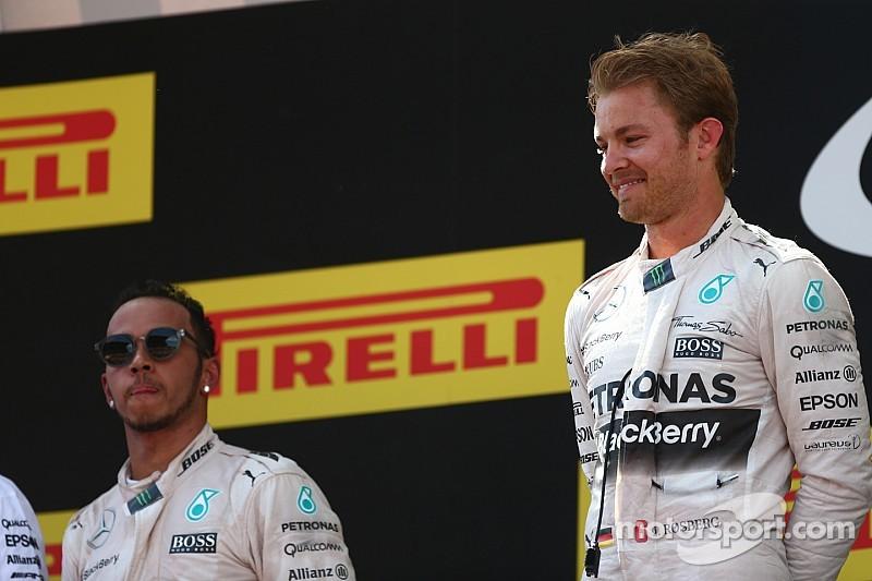 La victoria de Rosberg no cambiará la dinámica de Mercedes, dijo Wolff