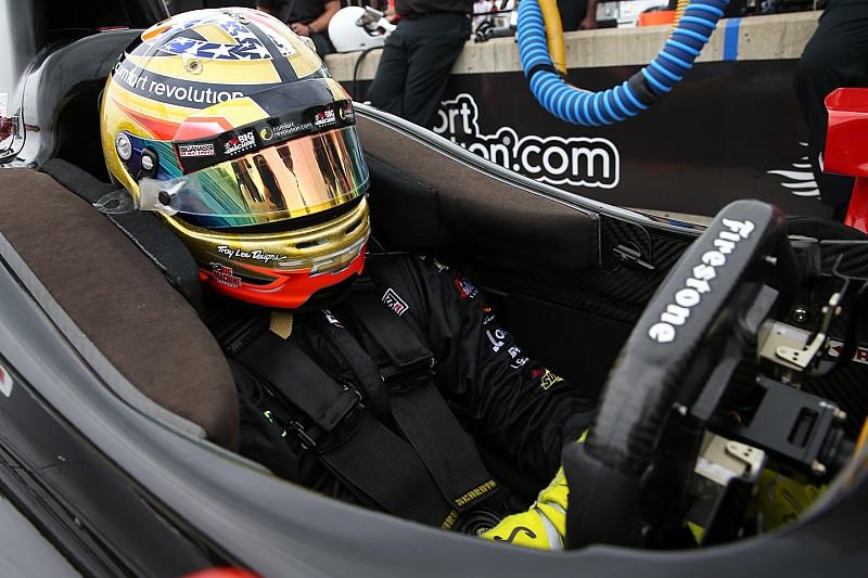 Sage Karam meilleur temps des essais de l'Indy 500