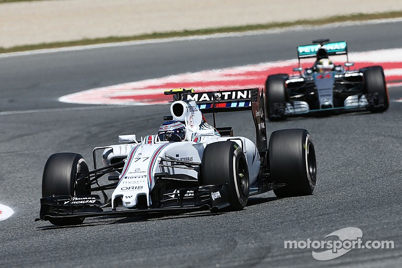 Williams has closed gap to the front - Bottas
