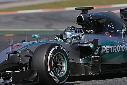 Essais privés - Rosberg largement en tête à Barcelone