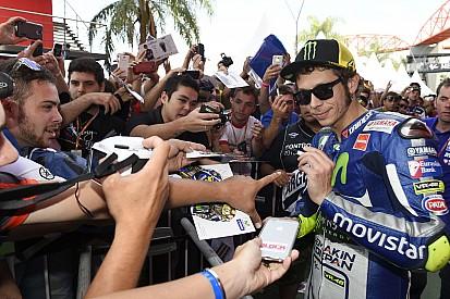 """Valentino Rossi, """"une icône mondiale"""" selon Ezpeleta"""