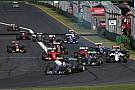 Los promotores de las carreras de F1 piden un cambio
