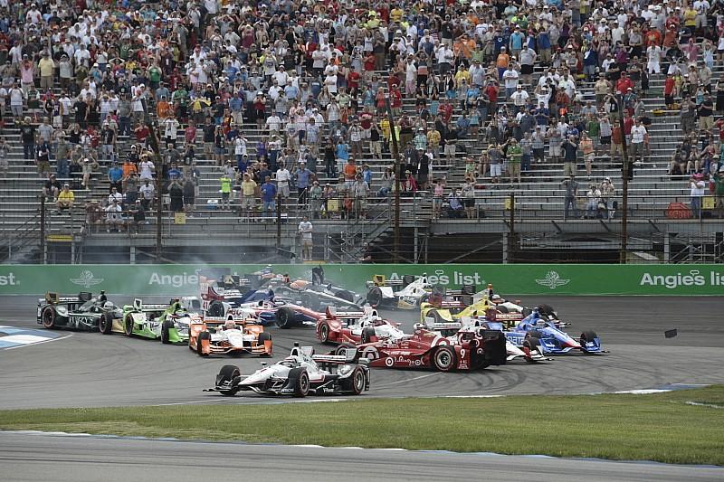 Pénalité pour Helio Castroneves après le GP d'Indy