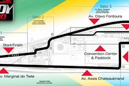 Indycar: presentato il cittadino di San Paolo