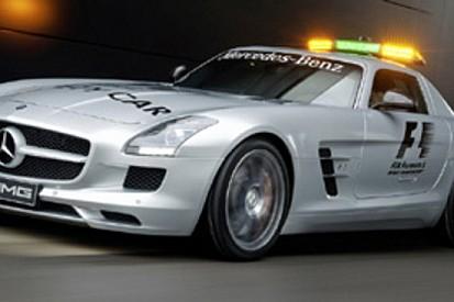 Mercedes SLS AMG safety car 2010 della F1