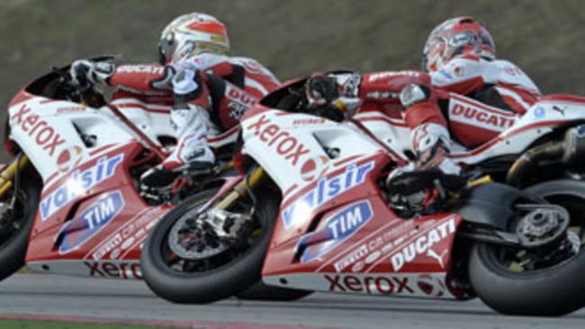 WSBK 2010, Valencia: il freddo frena la Ducati