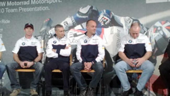 Team BMW Motorrad Motorsport Superbike 2010