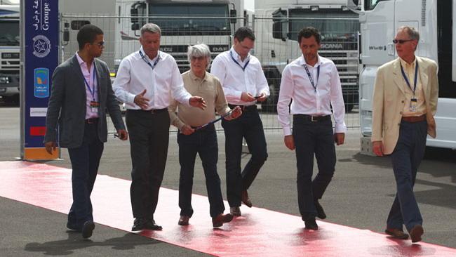 Bernie Ecclestone in visita a Marrakech