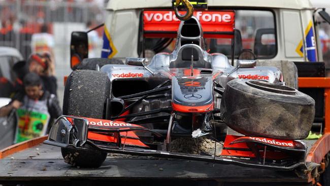 Bridgestone smentisce la foratura per Hamilton