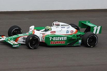 Indy 500: Kanaan al top prima della pioggia