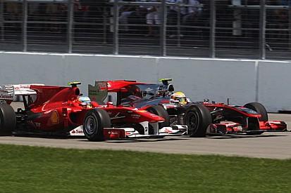 Alonso troppo remissivo nei doppiaggi