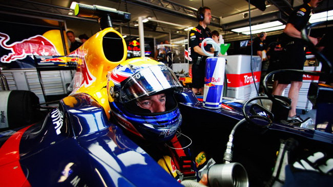 La Red Bull usa l'F-Duct in qualifica e gara