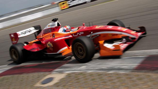 Jousse tinge di giallorosso il Nurburgring