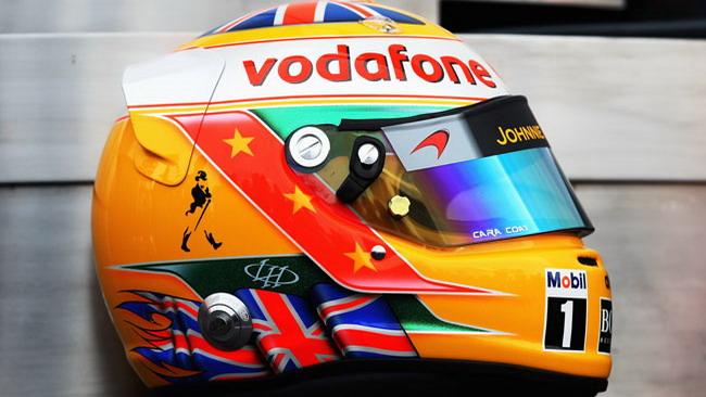 Ecco il nuovo casco di Hamilton