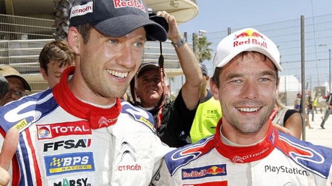 Loeb e Ogier rinnovano con la Citroen