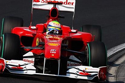 La F10 da migliorare nel primo giro veloce