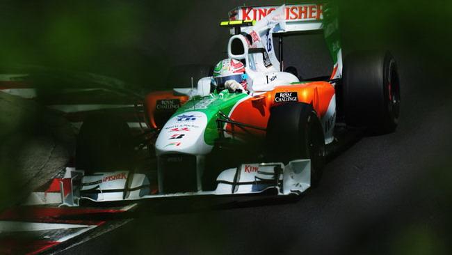 Liuzzi cerca un posto sul podio di Spa