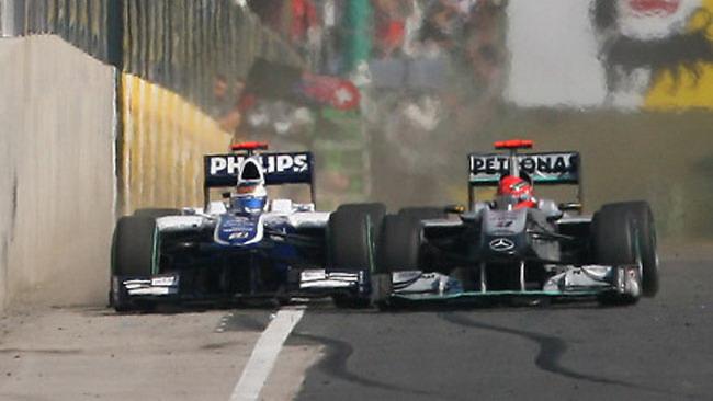 Schumi-Barrichello, la pace arriva via sms