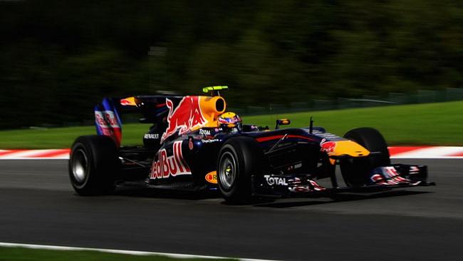Spa libere 3: Webber fa risorgere la Red Bull