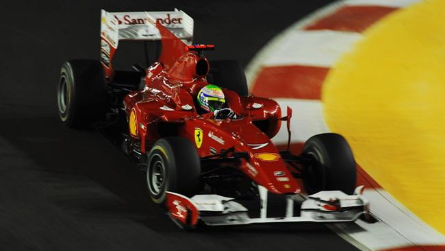 La Ferrari sostituisce il motore di Massa
