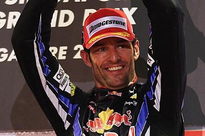 Webber è stato molto fortunato a finire la gara
