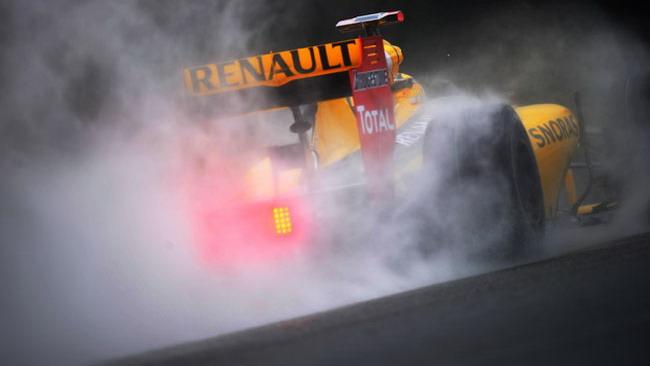 Interlagos, libere 3: Kubica a sorpresa sul bagnato