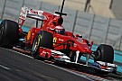 Abu Dhabi, day 4: Alonso chiude in bellezza i test Pirelli