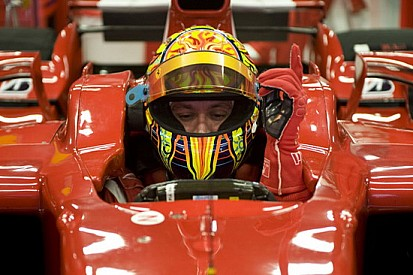 Se Valentino vuole provare la Ferrari, si può fare!